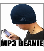 iHat - MP3 Beanie Hat With Built In Headphones (Navy Blue)