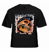Biker Shirts - Anarchy Men's Biker T-Shirt (Black)