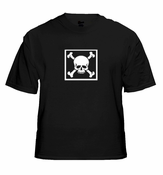 Biker T-Shirts - Bones in a Box Biker Shirt