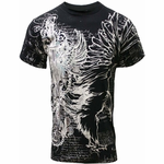 Konflic Winged Sword T-shirt (Black)