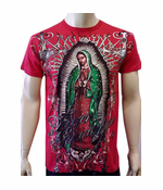 Konflic Vision of Guadalupe T-Shirt (Red)
