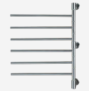 "Amba Swivel Model Jack D006 towel warmer with 6 cross bars is 21"" X 29"", Amba Swivel J-D006-P, Amba Swivel J-D006-B"
