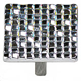 "1 7/8"" Mosaic Knobs in Polished Chrome Schaub and Company 234-26"