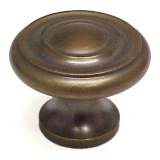 "1 1/4"" Aspen Bronze Knobs by Schaub, Schaub 703-AsBz"