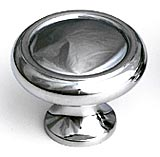 "1 1/4"" Polished Chrome Traditional Knobs by Schaub and Company, Schaub and Company 711-26"