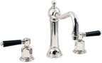 California Faucets Empire Moderne 3302-ADC-PN Art Deco Faucets in Polished Nickel