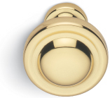 "Valli & Valli B308, Valli & Valli Brass or Antique Brass Knobs are available in 1"", 1 3/16"", or 1 9/16"" Diameter"