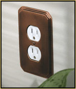 Colonial Bronze Switchplates and Outlet Covers