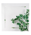 "Alno 9287-102,  28"" x 28"" Square Mirrors by Alno"