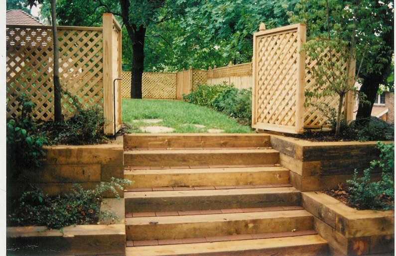 Landscaping Timber - Garden Installation - Landscape Timbers