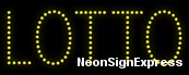 Lotto LED Sign