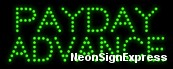 Payday Advance LED Sign