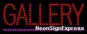 Gallery LED Sign