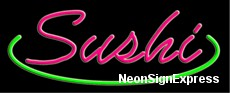 Neon Sign - SUSHI