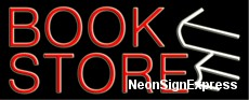Book Store, Logo Neon Sign