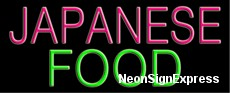 Japanese Food Neon Sign