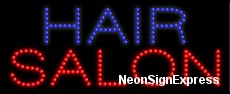 Hair Salon LED Sign