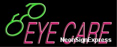 Neon Sign - EYE CARE
