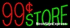 99 Store LED Sign