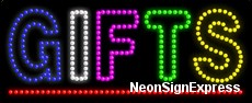 Gifts LED Sign