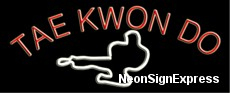 Neon Sign - TAE KWON DO