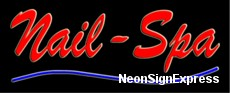 Nails-Spa Neon Sign