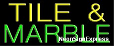 Neon Sign - TILE & MARBLE