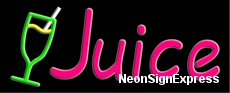 Juice, Logo Neon Sign