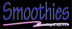 Neon Sign - SMOOTHIES