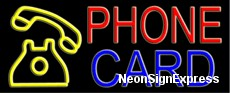 Neon Sign - PHONE CARD