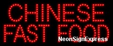 Chinese Fast Food LED Sign