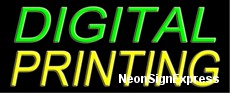 Digital Printing Neon Sign