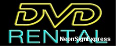 Neon Sign - DVD RENTAL