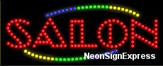 Salon LED Sign