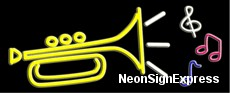 Music logo Neon Sign