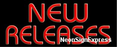 New Releases Neon Sign
