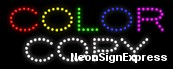 Color Copy LED Sign
