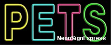Pets Neon Sign