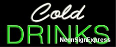 Neon Sign - COLD DRINKS