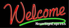 Neon Sign - WELCOME