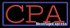 Neon Sign - CPA