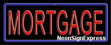 Mortgage Neon Sign