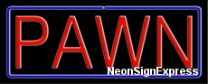Neon Sign - PAWN