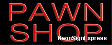 Neon Sign - PAWN SHOP
