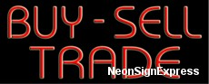 Buy Sell Trade Neon Sign