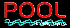 Neon Sign - POOL