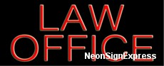 Neon Sign - LAW OFFICE
