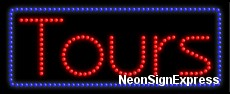 Tours LED Sign