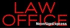 Law Office  LED Sign