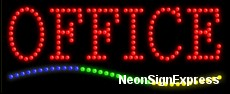 Office LED Sign